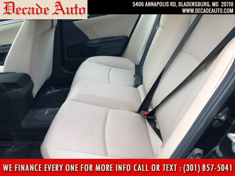 Used Honda Civic Sedan LX CVT 2017 | Decade Auto. Bladensburg, Maryland