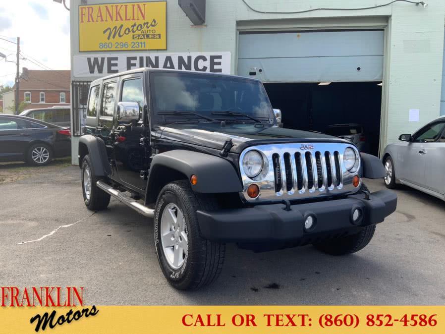 Used 2012 Jeep Wrangler Unlimited in Hartford, Connecticut | Franklin Motors Auto Sales LLC. Hartford, Connecticut