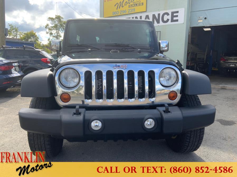 Used Jeep Wrangler Unlimited 4WD 4dr Sport 2012 | Franklin Motors Auto Sales LLC. Hartford, Connecticut