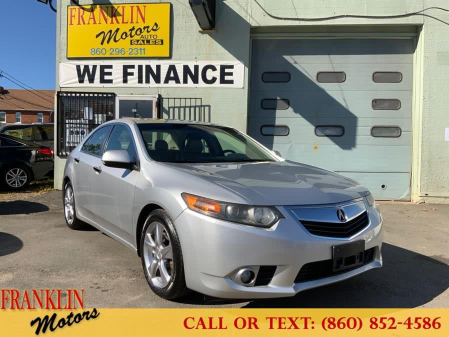 Used 2012 Acura TSX in Hartford, Connecticut | Franklin Motors Auto Sales LLC. Hartford, Connecticut