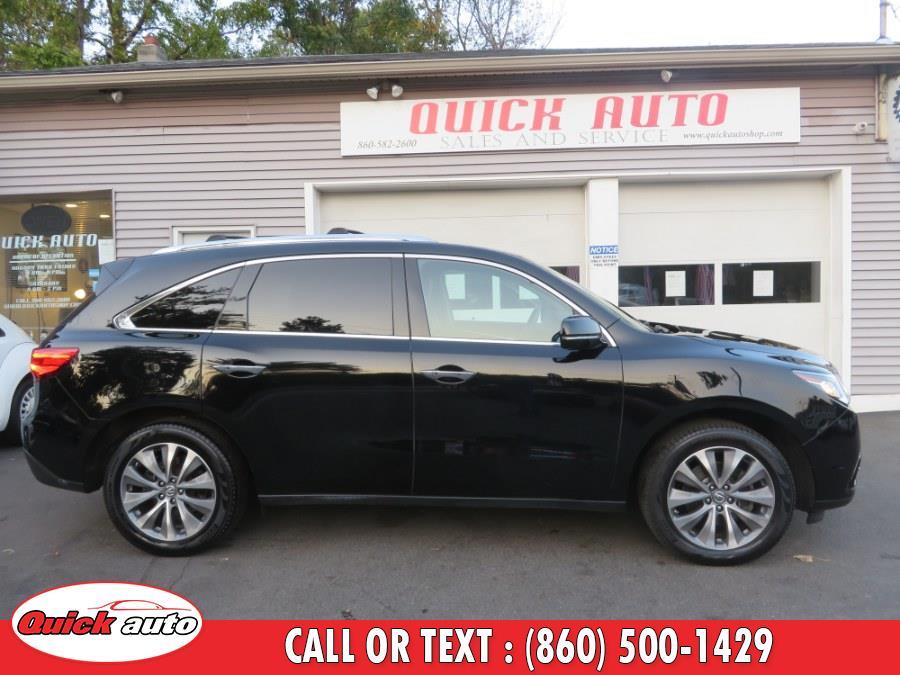 Used Acura MDX SH-AWD 4dr Tech Pkg 2014 | Quick Auto LLC. Bristol, Connecticut