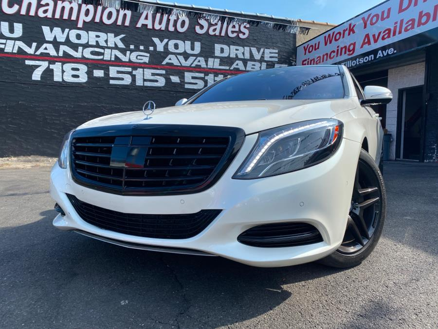 Used 2015 Mercedes-Benz S-Class in Bronx, New York | Champion Auto Sales Of The Bronx. Bronx, New York