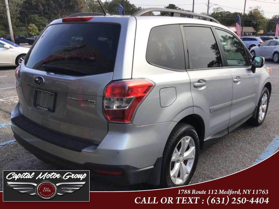 Used Subaru Forester 4dr CVT 2.5i Premium PZEV 2015 | Capital Motor Group Inc. Medford, New York
