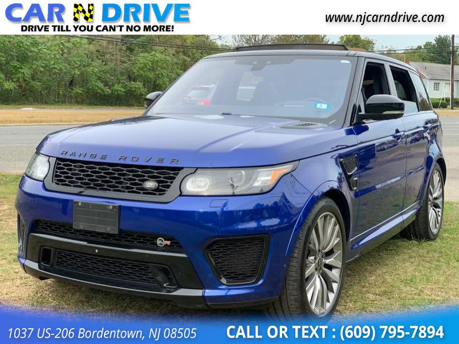 Used Land Rover Range Rover Sport SVR 2017 | Car N Drive. Bordentown, New Jersey