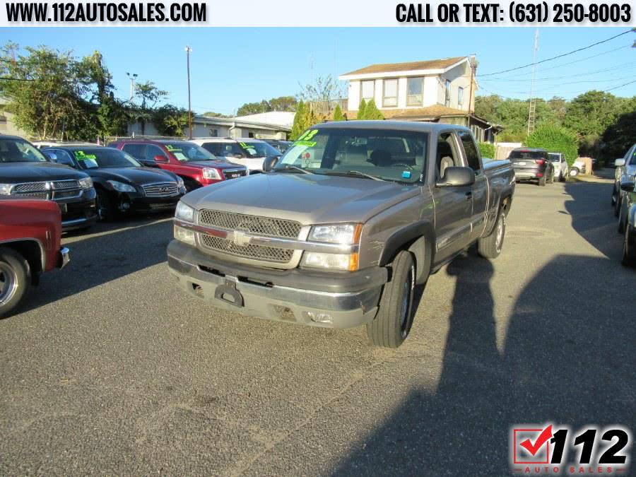 "2003 Chevrolet Silverado 1500 Ext Cab 143.5"" WB 4WD LS, available for sale in Patchogue, NY"