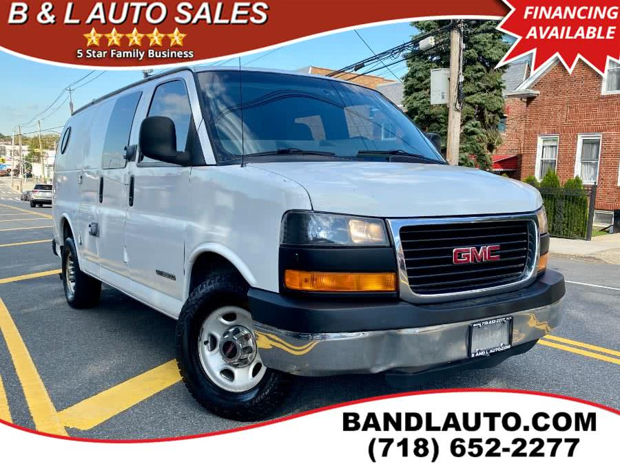 Used 2004 GMC Savana Cargo Van in Bronx, New York | B & L Auto Sales LLC. Bronx, New York