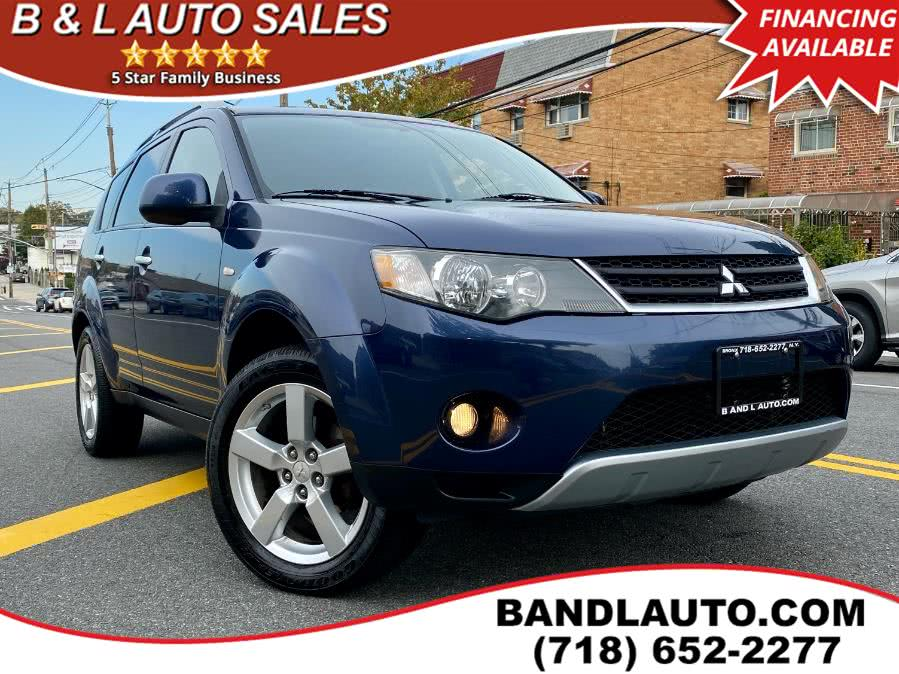 Used 2007 Mitsubishi Outlander in Bronx, New York | B & L Auto Sales LLC. Bronx, New York