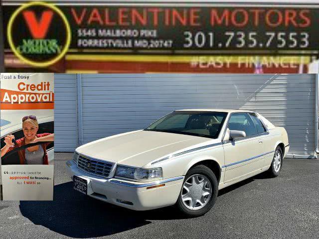 Used 1997 Cadillac Eldorado in Forestville, Maryland | Valentine Motor Company. Forestville, Maryland