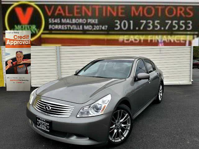Used 2008 Infiniti G35 Sedan in Forestville, Maryland | Valentine Motor Company. Forestville, Maryland