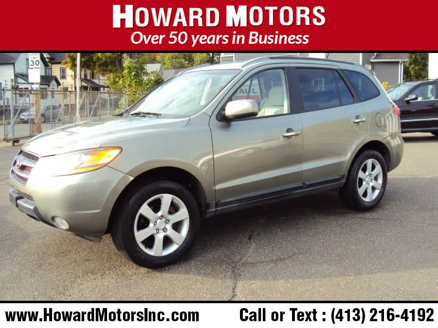 2009 Hyundai Santa Fe AWD 4dr Auto Limited, available for sale in Springfield, MA