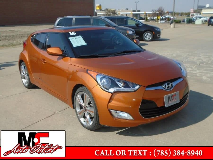Used 2016 Hyundai Veloster in Colby, Kansas | M C Auto Outlet Inc. Colby, Kansas