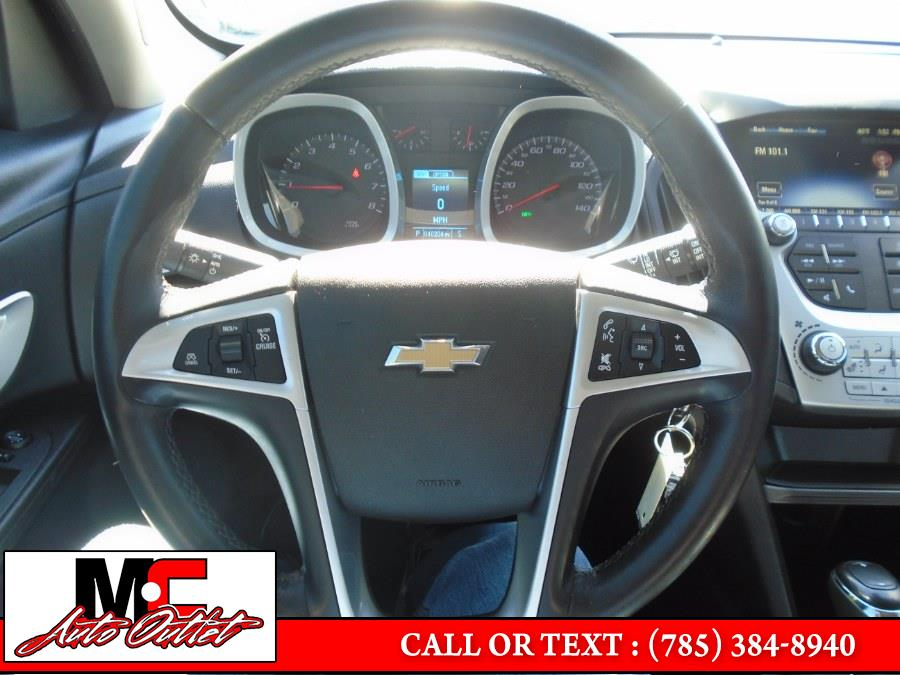 Used Chevrolet Equinox FWD 4dr LT w/1LT 2017 | M C Auto Outlet Inc. Colby, Kansas