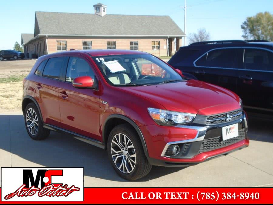 Used 2019 Mitsubishi Outlander Sport in Colby, Kansas | M C Auto Outlet Inc. Colby, Kansas
