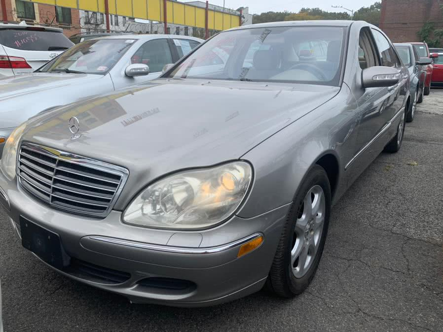 Used 2006 Mercedes-Benz S-Class in Brooklyn, New York | Atlantic Used Car Sales. Brooklyn, New York
