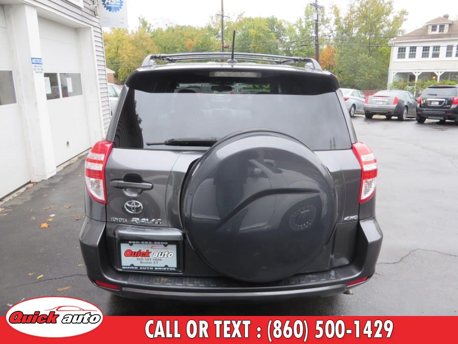 Used Toyota RAV4 4WD 4dr 4-cyl 4-Spd AT Sport (Natl) 2009 | Quick Auto LLC. Bristol, Connecticut