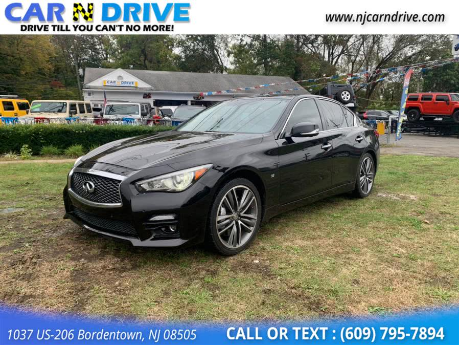 Used 2014 Infiniti Q50 in Bordentown, New Jersey | Car N Drive. Bordentown, New Jersey