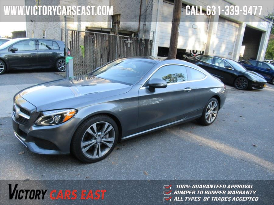 Used Mercedes-Benz C-Class C 300 4MATIC Coupe 2017 | Victory Cars East LLC. Huntington, New York