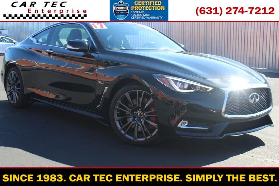 Used 2017 INFINITI Q60 in Deer Park, New York | Car Tec Enterprise Leasing & Sales LLC. Deer Park, New York