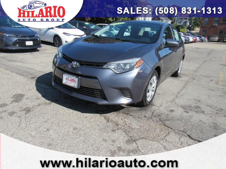 Used 2015 Toyota Corolla in Worcester, Massachusetts | Hilario's Auto Sales Inc.. Worcester, Massachusetts