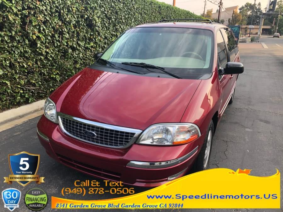 Used Ford Windstar Wagon 4dr SE 2003 | Speedline Motors. Garden Grove, California