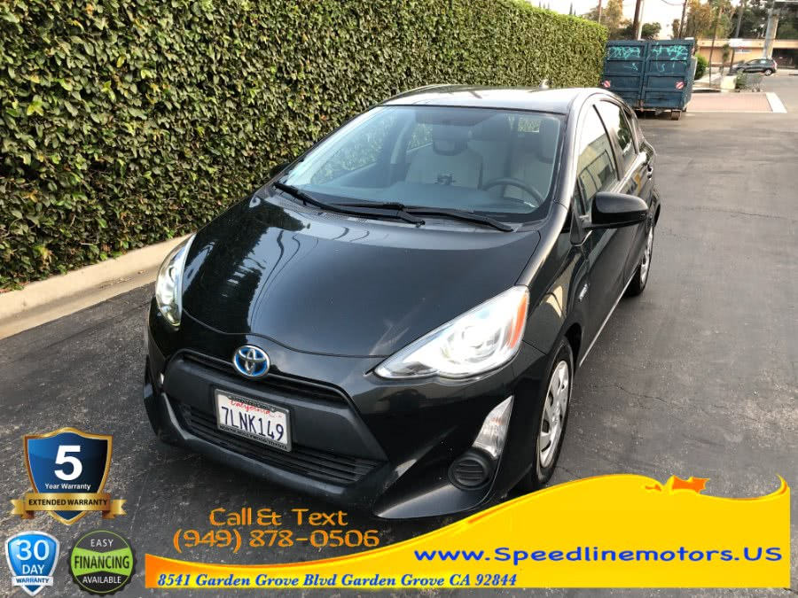Used 2015 Toyota Prius c in Garden Grove, California | Speedline Motors. Garden Grove, California