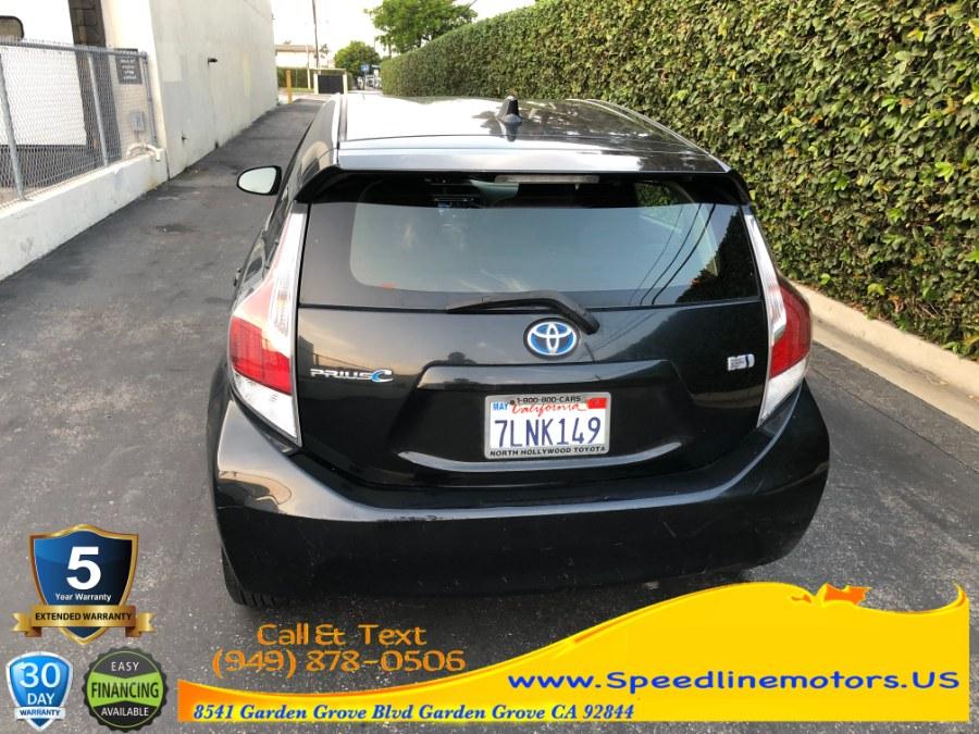 Used Toyota Prius c 5dr HB Three (Natl) 2015 | Speedline Motors. Garden Grove, California