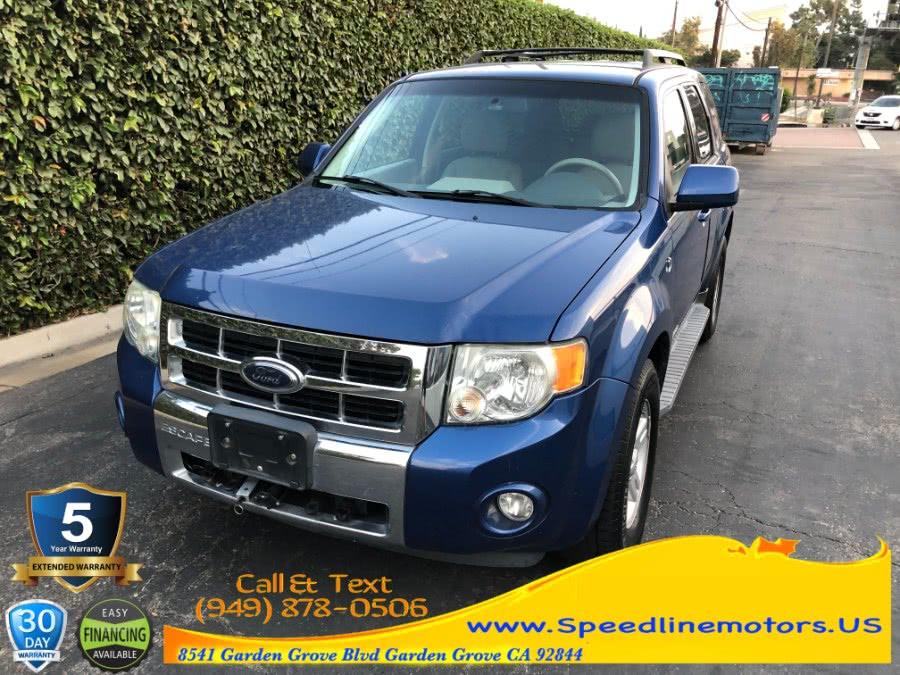Used Ford Escape FWD 4dr I4 CVT Hybrid 2008 | Speedline Motors. Garden Grove, California