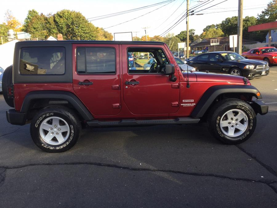 Used Jeep Wrangler Unlimited 4WD 4dr Sport 2011 | L&S Automotive LLC. Plantsville, Connecticut