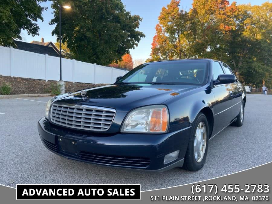 Used 2002 Cadillac DeVille in Rockland, Massachusetts | Advanced Auto Sales. Rockland, Massachusetts