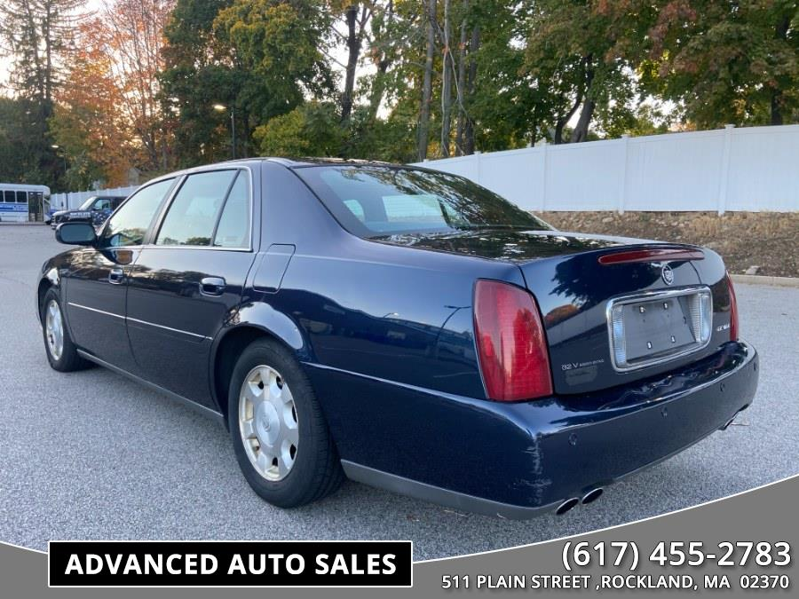 Used Cadillac DeVille 4dr Sdn 2002   Advanced Auto Sales. Rockland, Massachusetts