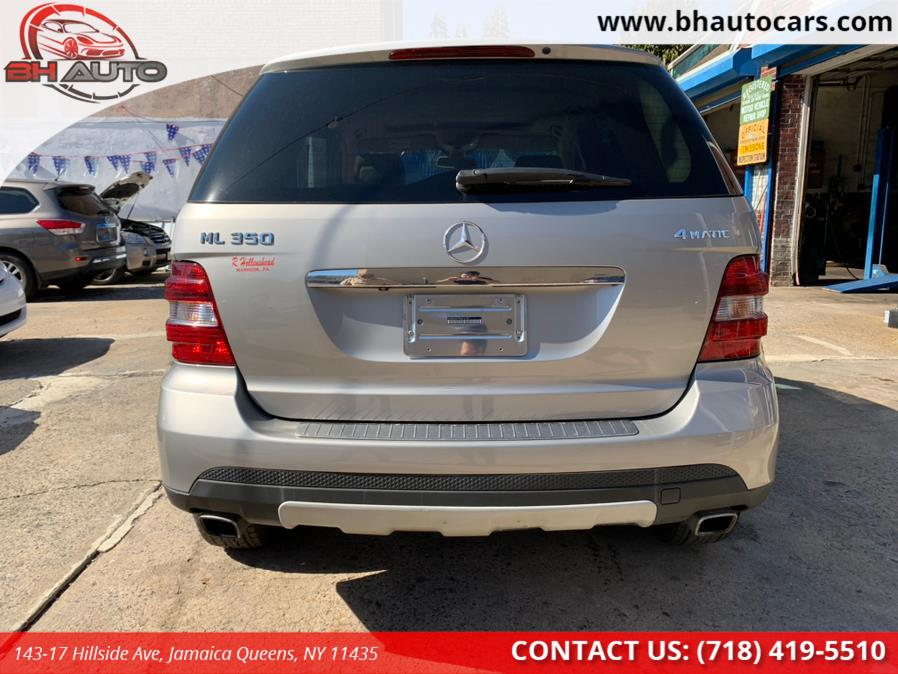 Used Mercedes-Benz M-Class 4MATIC 4dr 3.5L 2008 | BH Auto. Jamaica Queens, New York