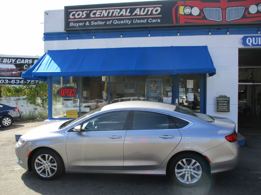 Used Chrysler 200 4dr Sdn Limited FWD 2015 | Cos Central Auto. Meriden, Connecticut
