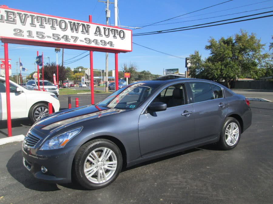 Used 2013 Infiniti G37 Sedan in Levittown, Pennsylvania | Levittown Auto. Levittown, Pennsylvania