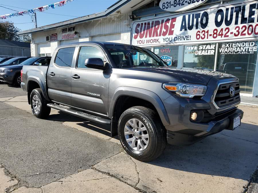 Used Toyota Tacoma SR5 Double Cab 5'' Bed V6 4x4 AT (Natl) 2017 | Sunrise Auto Outlet. Amityville, New York