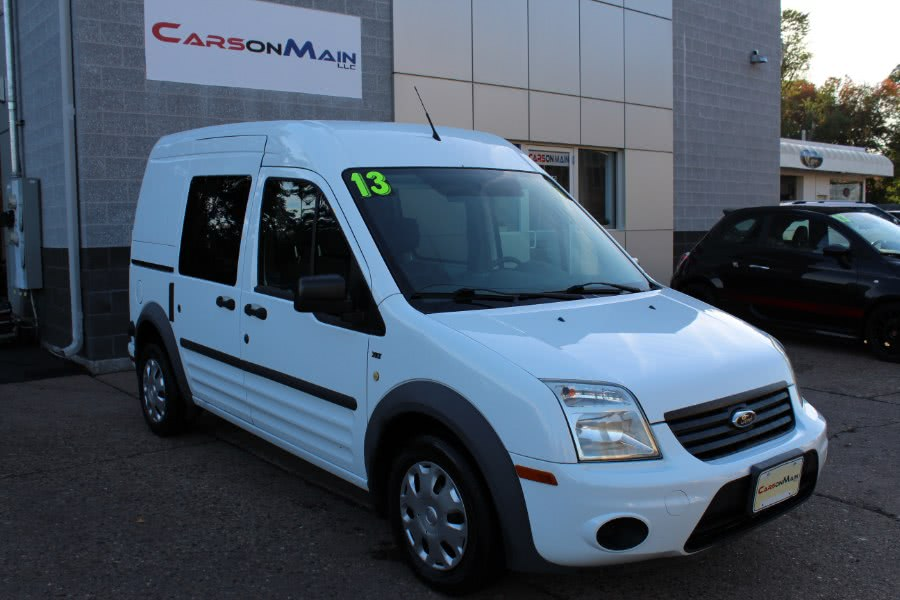 "Used Ford Transit Connect 114.6"" XLT w/side & rear door privacy glass 2013 