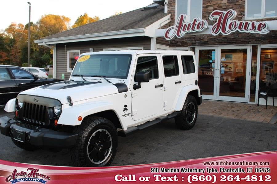 Used 2012 Jeep Wrangler Unlimited in Plantsville, Connecticut   Auto House of Luxury. Plantsville, Connecticut