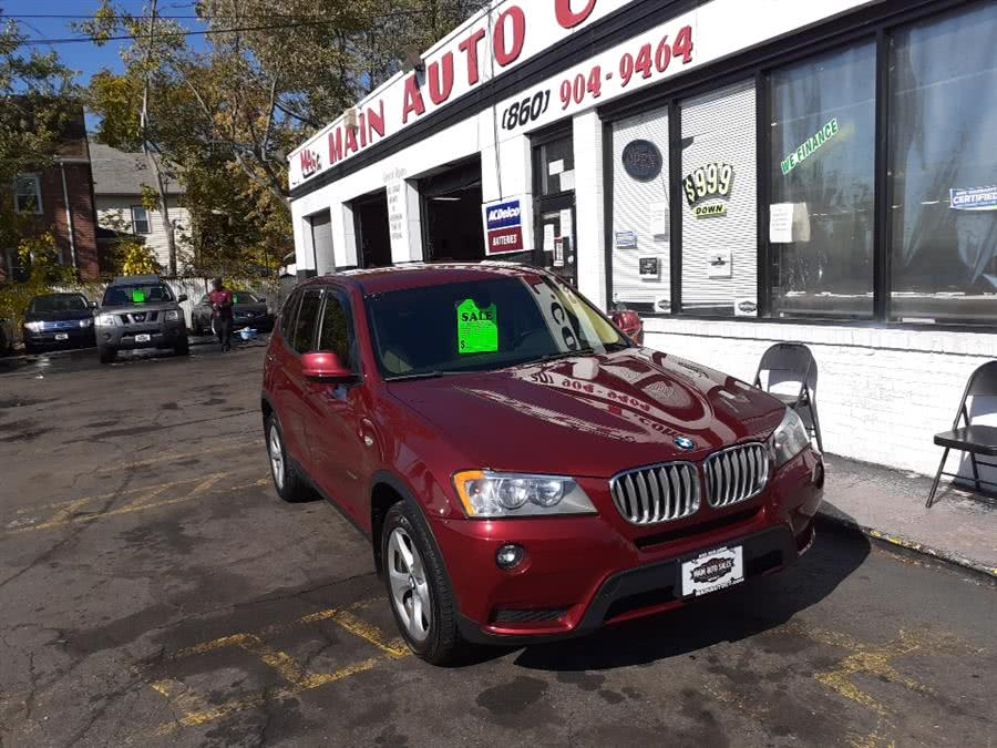 Used 2011 BMW X3 in Hartford, Connecticut | Main Auto Sales LLC. Hartford, Connecticut