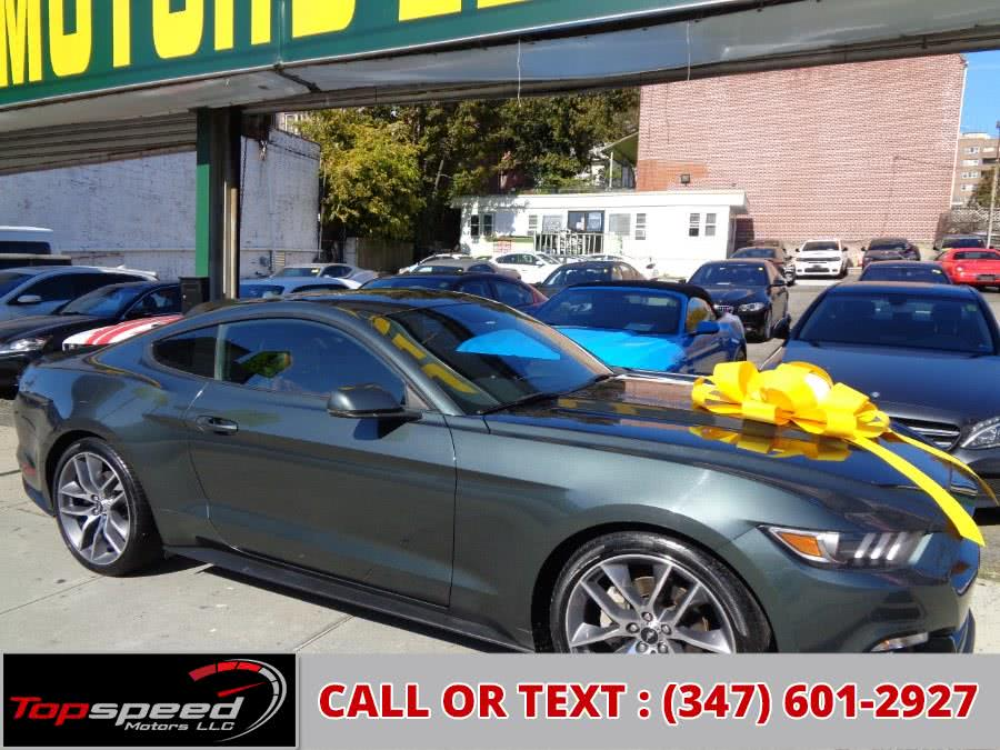 Used Ford Mustang Ecoboost Premium Technology Package 2015 | Top Speed Motors LLC. Jamaica, New York
