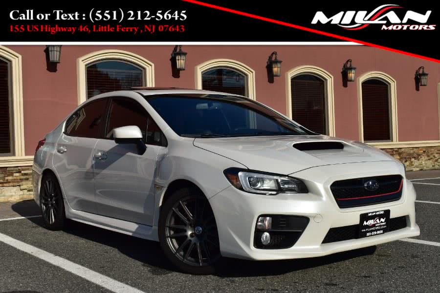Used Subaru WRX 4dr Sdn Man Limited 2015 | Milan Motors. Little Ferry , New Jersey