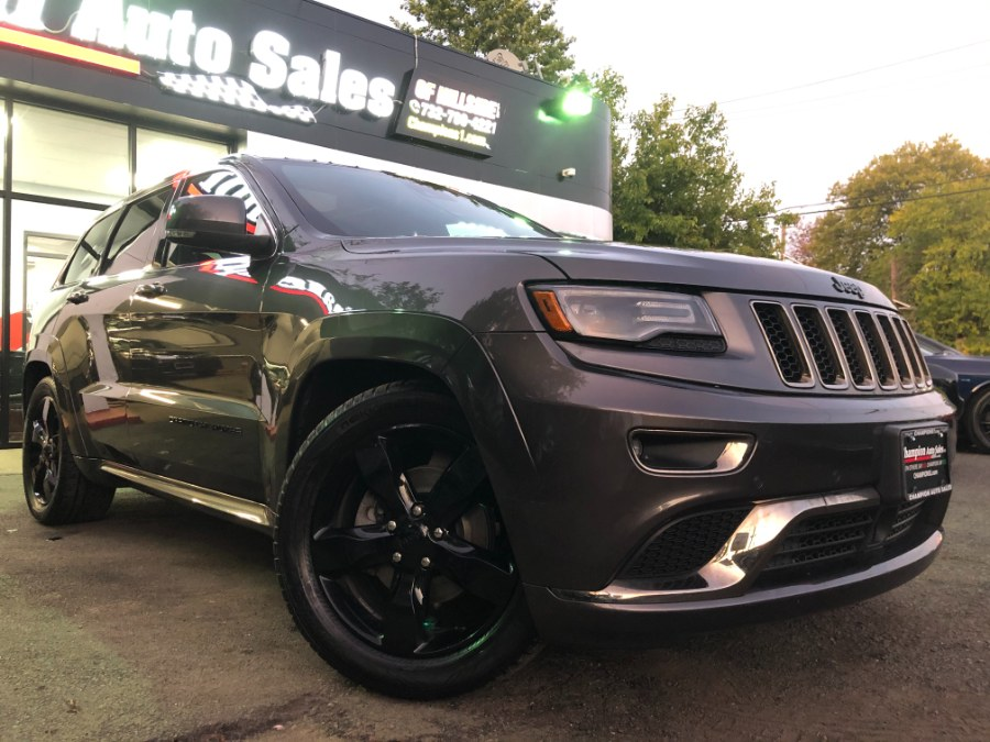 Used Jeep Grand Cherokee 4WD 4dr High Altitude 2016 | Champion Auto Sales. Hillside, New Jersey
