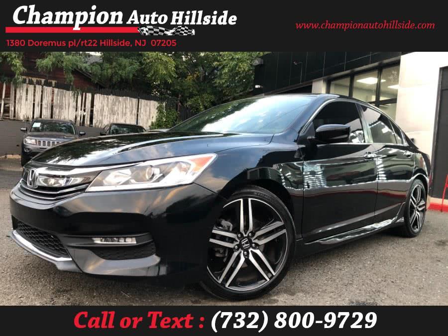 Used 2017 Honda Accord Sedan in Hillside, New Jersey | Champion Auto Sales. Hillside, New Jersey