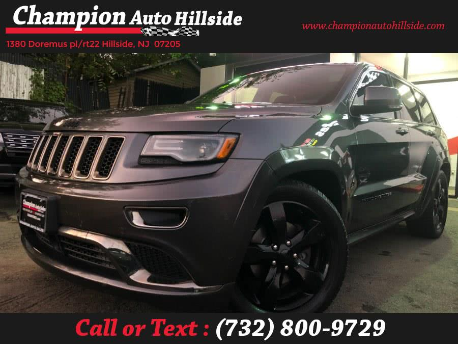 Used 2016 Jeep Grand Cherokee in Hillside, New Jersey | Champion Auto Hillside. Hillside, New Jersey