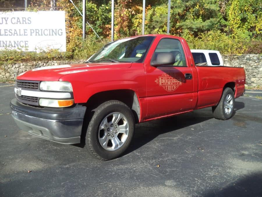 "Used Chevrolet Silverado 1500 2WD Reg Cab 133.0"" 8ft Bed 2002   Riverside Motorcars, LLC. Naugatuck, Connecticut"