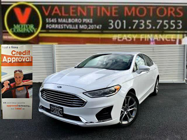 Used 2019 Ford Fusion in Forestville, Maryland | Valentine Motor Company. Forestville, Maryland