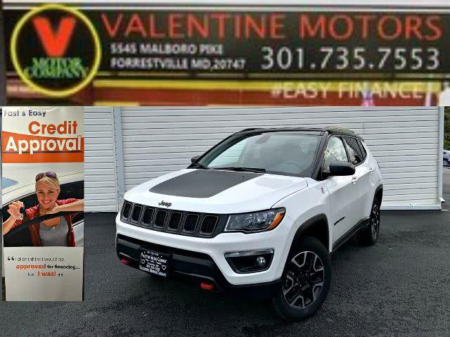 Used 2020 Jeep Compass in Forestville, Maryland | Valentine Motor Company. Forestville, Maryland