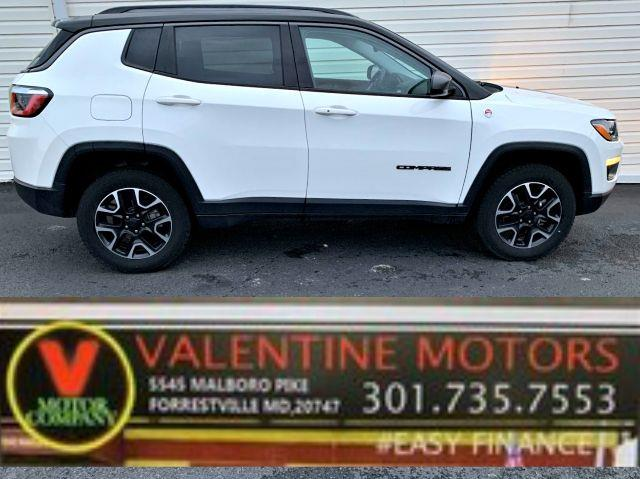 Used Jeep Compass Trailhawk 2020   Valentine Motor Company. Forestville, Maryland