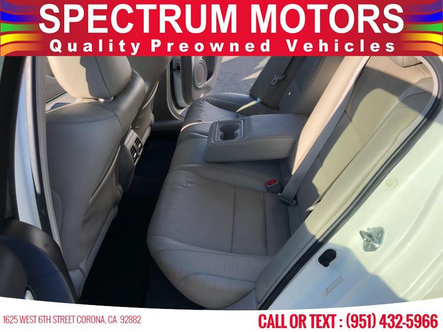 Used Acura TSX 4dr Sdn I4 Auto 2011   Spectrum Motors. Corona, California