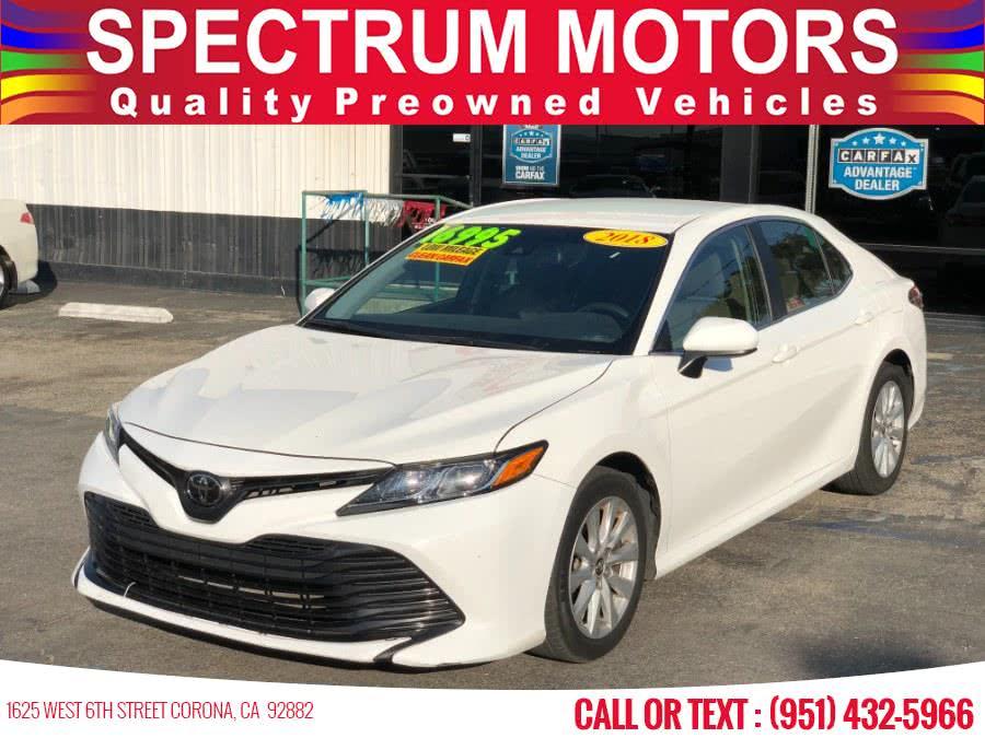 Used 2018 Toyota Camry in Corona, California | Spectrum Motors. Corona, California
