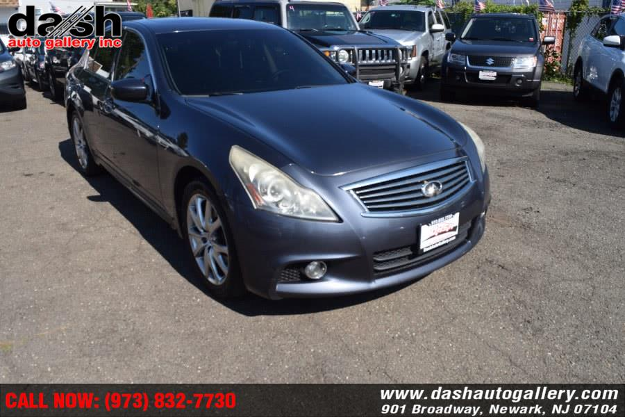Used Infiniti G37 Sedan 4dr x AWD 2011 | Dash Auto Gallery Inc.. Newark, New Jersey