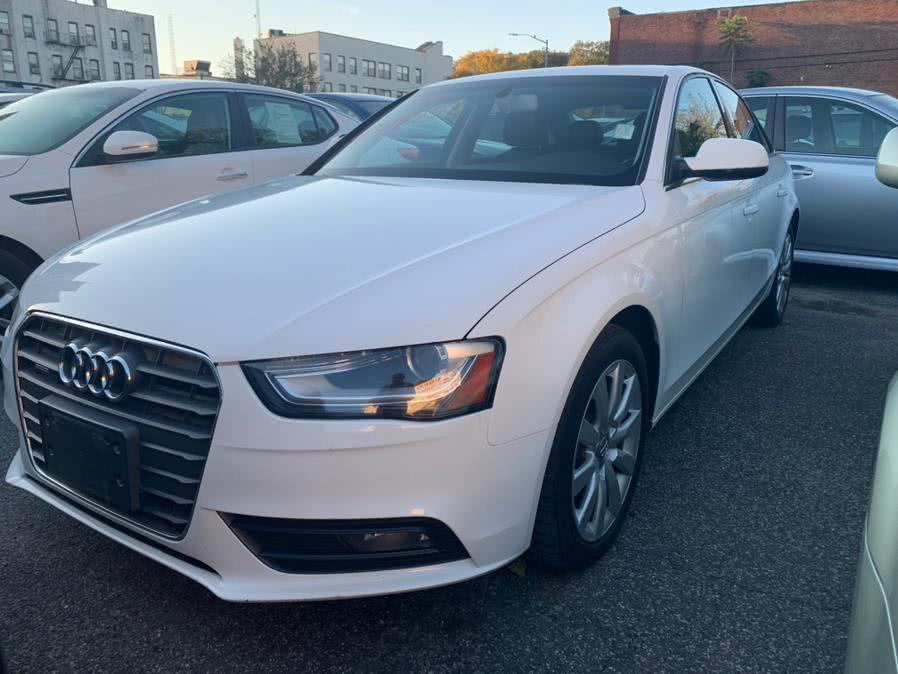 Used 2013 Audi A4 in Brooklyn, New York | Atlantic Used Car Sales. Brooklyn, New York